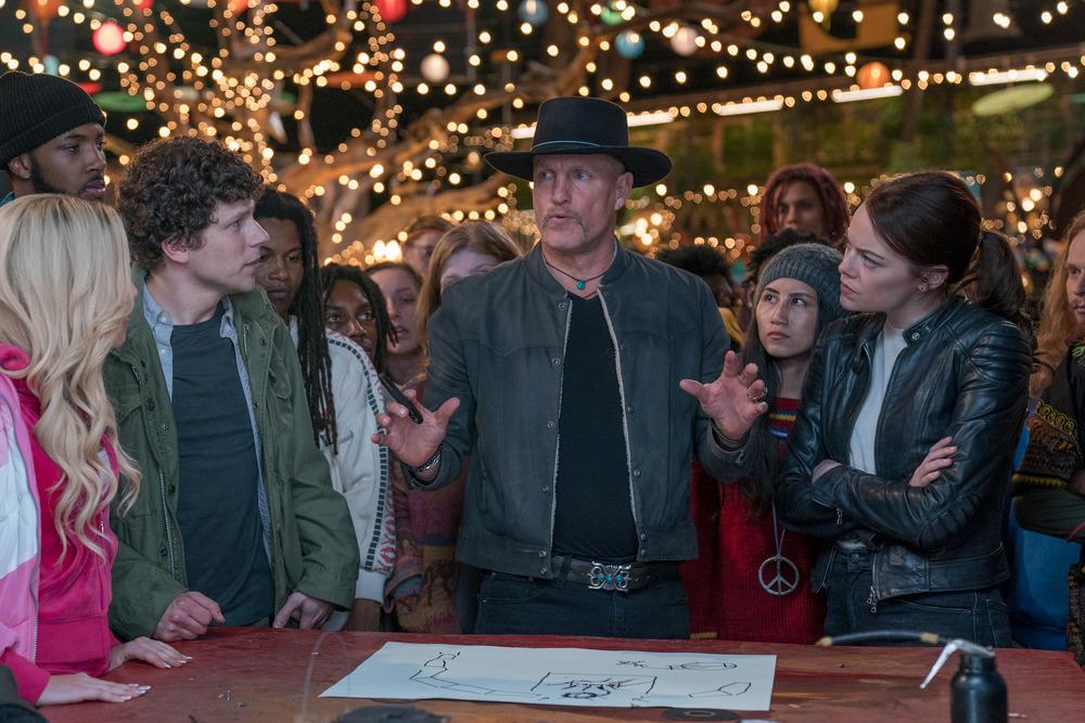 Woody Harrelson (Finalized);Jesse Eisenberg (Finalized);Emma Stone (Finalized);Abigail Breslin (Finalized);Zoey Deutch (Finalized)
