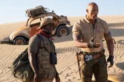 Dwayne Johnson and Kevin Hart star in Jumanji: The Next Level