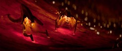 The nanoites inside Bloodshot in Columbia Pictures' BLOODSHOT.