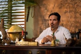 Michael Peña is Mr. Roarke in Columbia Pictures' BLUMHOUSE'S FANTASY ISLAND.