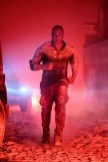 Bloodshot (Vin Diesel) in a tunnel attack in Columbia Picture's BLOODSHOT.