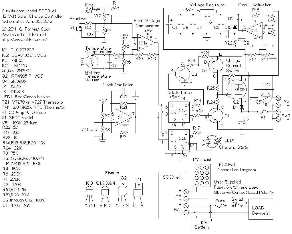 20 амперное зарядное устройство для солнечных батарей
