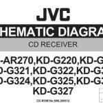 JVC KD-G227 электрически принципиальная схема