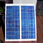 Самодельная солнечная панель из орг стекла правильная сборка!