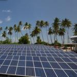 Подключение солнечных батарей.