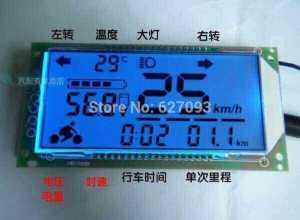Многофункциональный вольтметр термометр спидометр для 48 В
