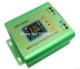 LCD MPPT Solar Regulator Charge Controller 24/36/48/60/72V 10A DC-DC Boost E#TN