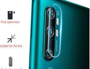 Три защиты стекло для экрана, для камеры и бампер для XIAOMI Redmi Note 8 Pro