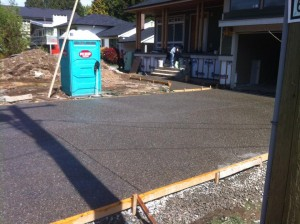 Driveway, sidewalk remove and replace