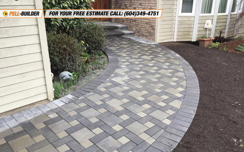 32-paving stone job in surrey bc