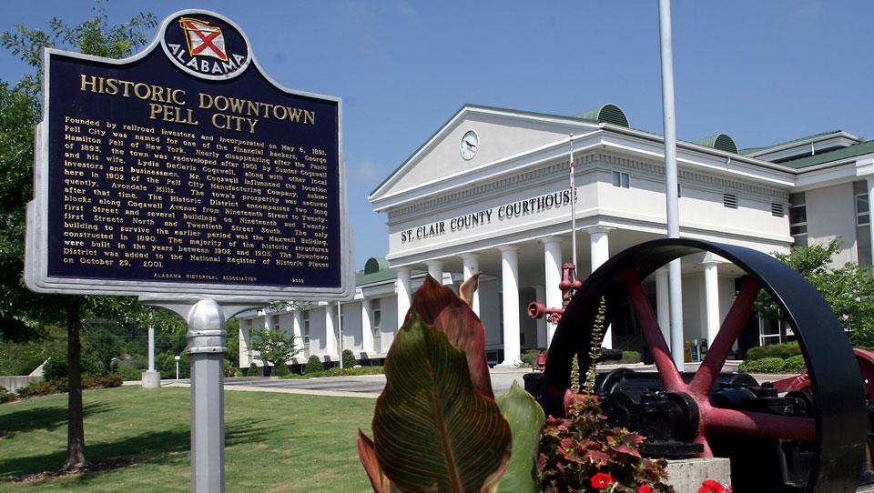 Historic Pell City  City of Pell City Alabama