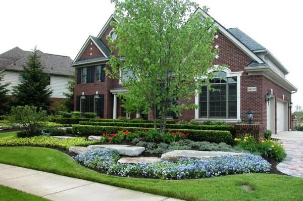landscape design in northville