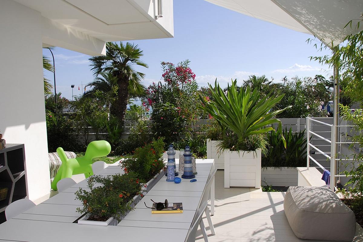 Piccolo giardino per una casa al mare  Pellegrini Giardini