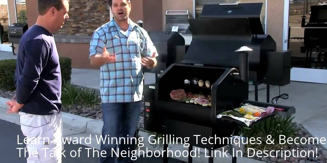 Green Mountain Grills | Daniel Boone pellet grill DEMO