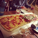 1 meter pizza from Poco Loco