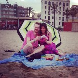 Beach picnic, Kristel's bday, Barcelona