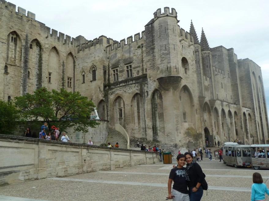 Palais des Pâpes em Avignon