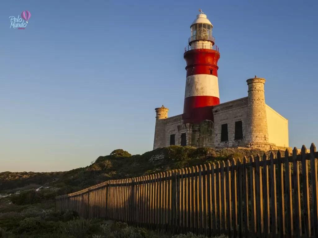 ROTA DOS JARDINS - Farol do Cabo das agulhas ao por do sol