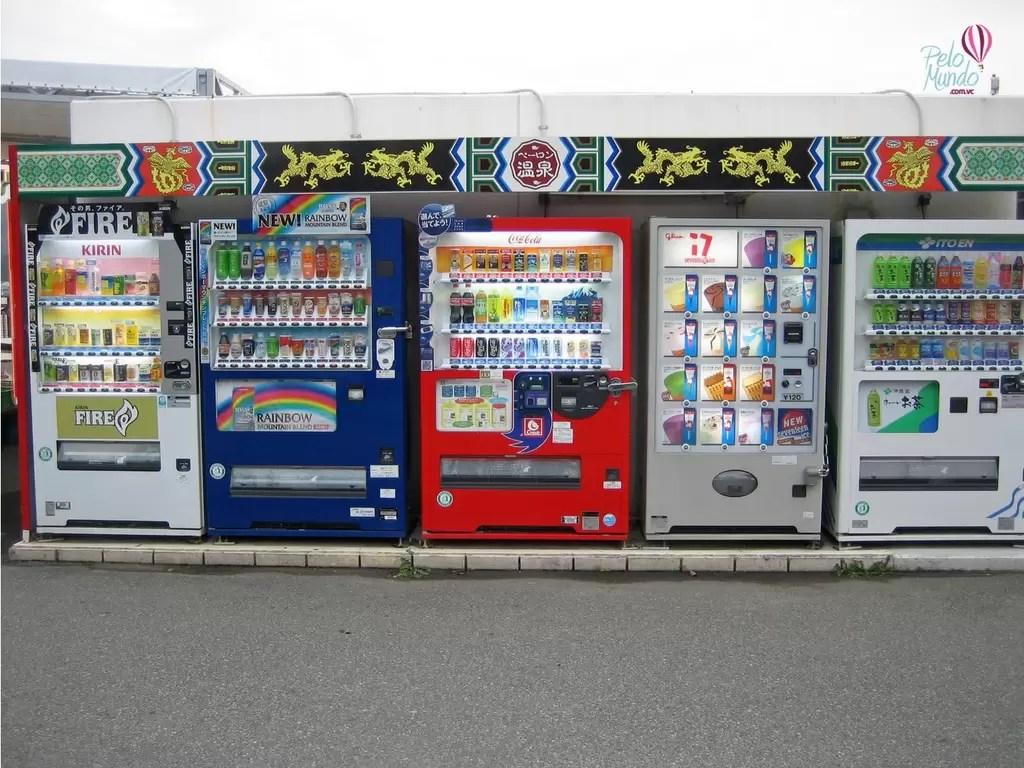 curiosidades sobre o Japão: VENDING MACHINE