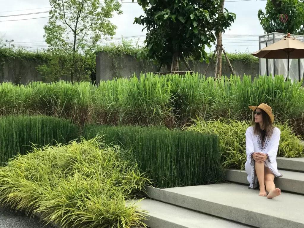 North Hill Resort em Chiang Mai - jardins