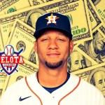 Cuánto cobrarán los cubanos en MLB con la nueva escala salarial.