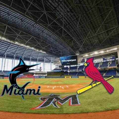 Los Miami Marlins barridos por los Cardenales