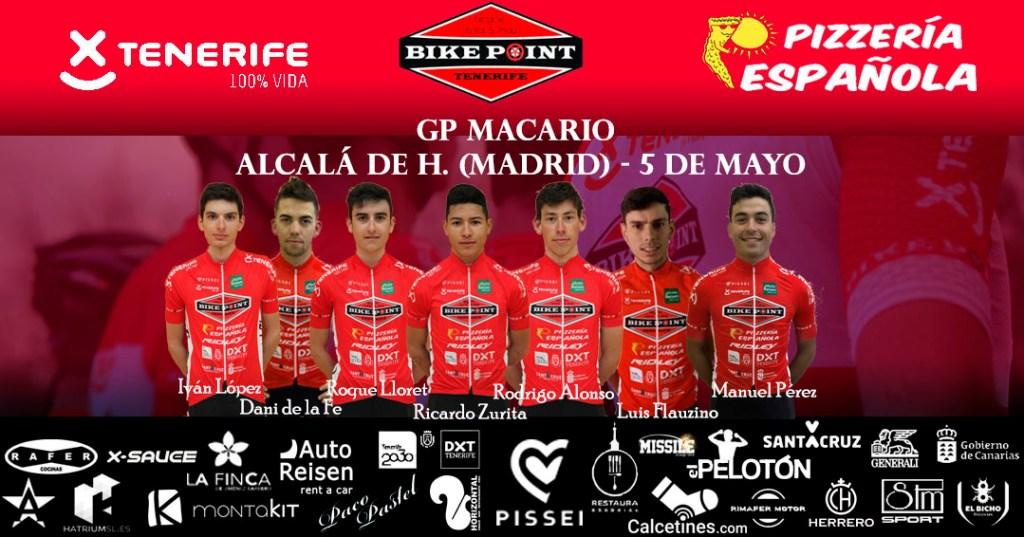 Alineación GP Macario Pelotón Tenerife