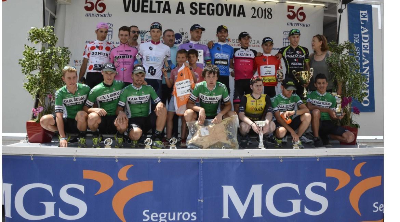 Cartel Vuelta Segovia 2019