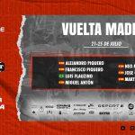 Alineación Vuelta Madrid Tenerife