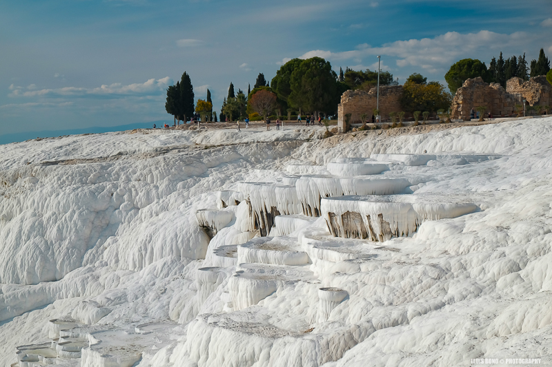 terrasses de travertí a Pammukale