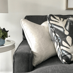 Cleaning White Fabric Sofa Decorating A Console Table Behind Upholstery Archives Peltier Interiors