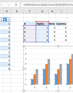 Another way to adjust  chart   data is the select source dialog open this click tools   design tab button also working with pivot charts in excel peltier tech blog rh peltiertech