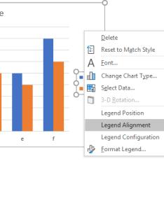 Peltier tech charts for excel legend alignment context menu also commands rh peltiertech