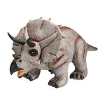 Dinosaurio Triceratops de peluche gigante