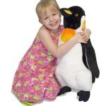 Peluche de pingüinos grande