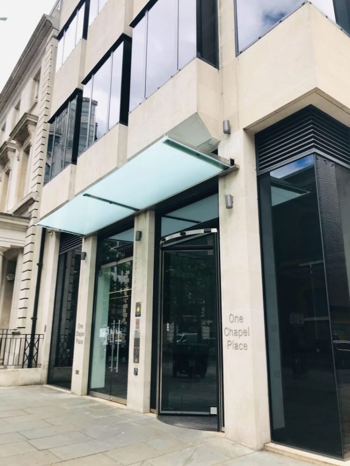 the whiteley clinic at one chapel place in London