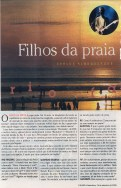 2 page article @ Rio Fanzine, jornal O Globo, page 1 of 2
