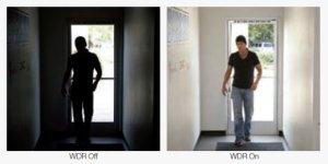 CCTV dapat bekerja dengan baik saat terjadi kondisi ketika sumber cahaya yang terang berada di belakang objek. Seseorang yang masuk melalui pintu adalah contoh yang paling umum.