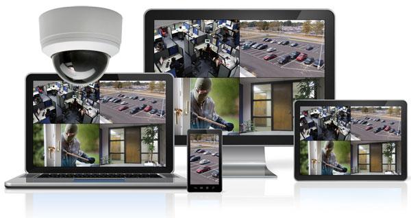 Pantau CCTV Jarak Jauh