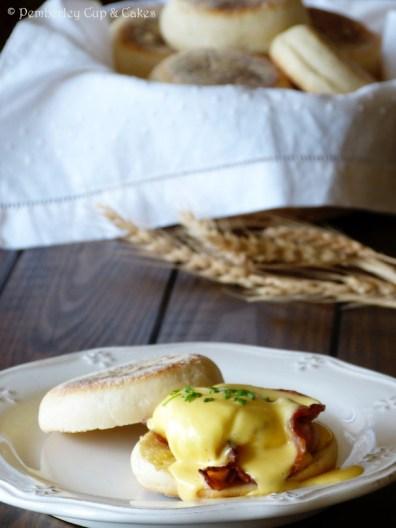English Muffins {Eggs Benedict}
