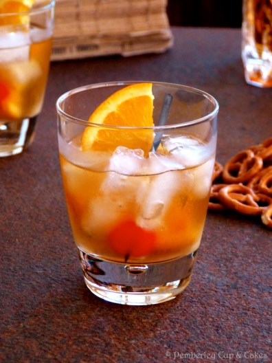 Old-Fashioned Cocktail {El cocktail primigenio}