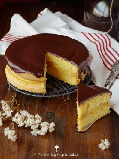 Tarta Boston Cream Pie