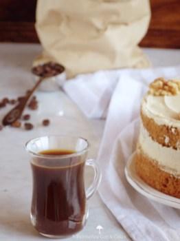 Coffee Walnut Cake {Tarta de café y nueces}