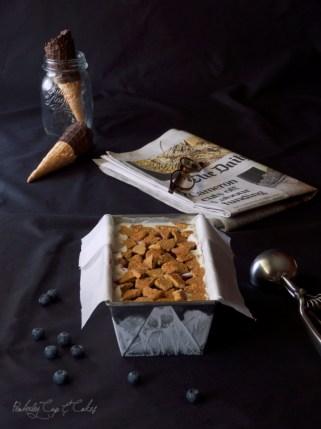 Blueberry Cheesecake Ice Cream {Helado de Cheesecake con Arándanos}