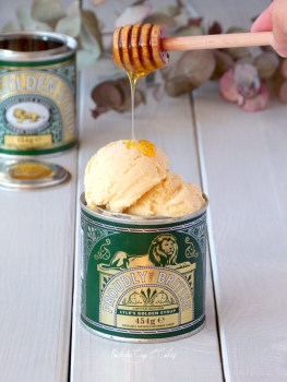 Golden Syrup Ice Cream {Helado de Golden Syrup}