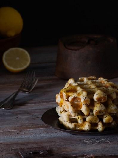 Lemon Ricotta Waffles (Gofres de ricotta y limón)
