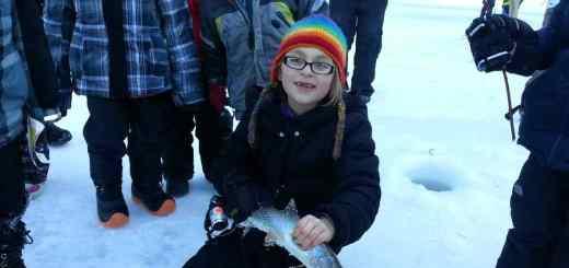 Pemberton Winterfest First Place Ice Fishing Derby