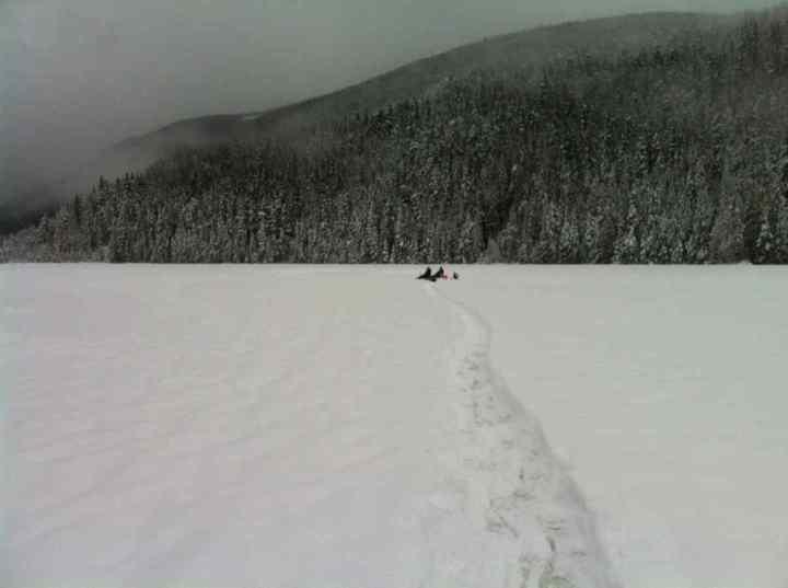 Blackwater Lake Winter