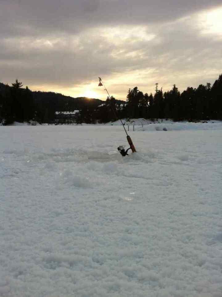 Ice Fishing Whistler