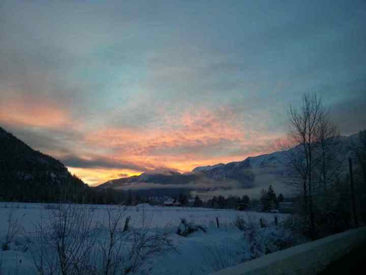 Winter in Pemberton